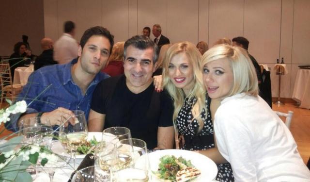 Κ. Σπυροπούλου: Για φαγητό μαζί με την παρέα του Μες στην καλή χαρά!