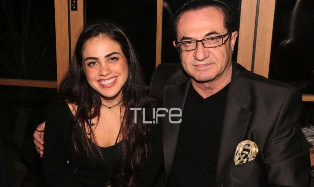 Λ. Πανταζής: Βραδινή έξοδος με την κόρη του, Κωνσταντίνα!