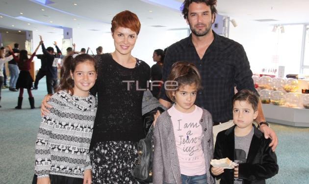 Κ. Στεργιάδου: Οικογενειακή βόλτα με νέο look! | tlife.gr