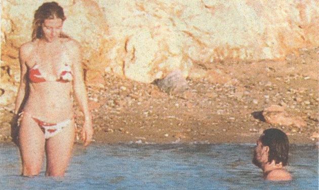 Α. Βιγκόπουλος – Ν. Κοτοβός: Τελευταίες βουτιές πριν το γάμο! | tlife.gr