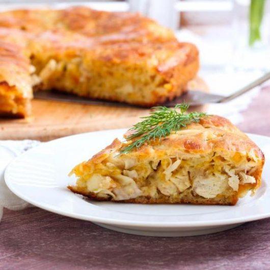 Κοτόπιτα με κάστανα   tlife.gr