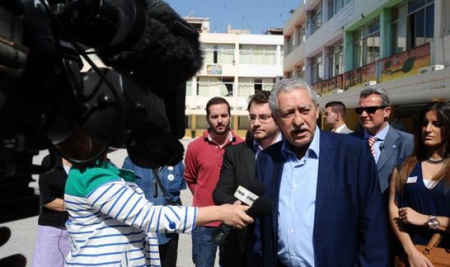 Παραιτήθηκε ο Φώτης Κουβέλης  από την ηγεσία της ΔΗΜΑΡ