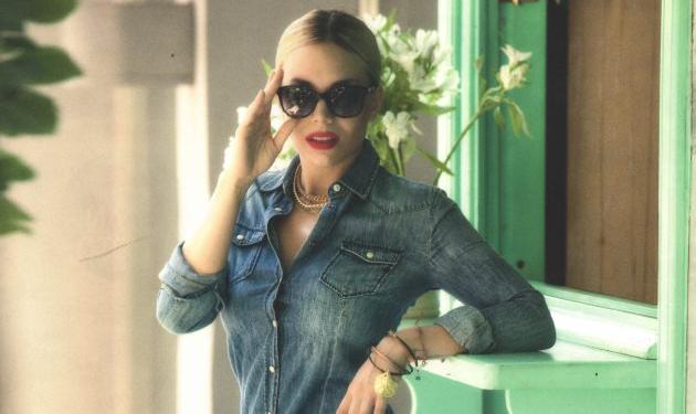 Η Κρυσταλλία αγνώριστη σε ρόλο μοντέλου! | tlife.gr
