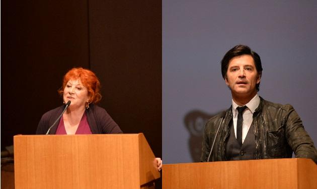 Χρυσούλα Διαβάτη: Η στιγμή που ξέσπασε στα βραβεία και η απάντηση του Σάκη Ρουβά! Video | tlife.gr