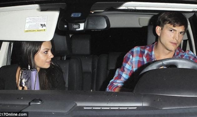 Αχώριστοι A. Kutcher – M. Kunis! Κάνουν κοινές δημόσιες εμφανίσεις ενώ ήδη μένουν μαζί | tlife.gr