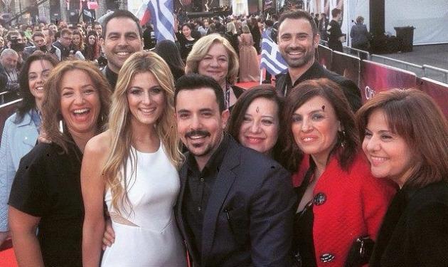 Eurovision 2015: Μάγεψε στο red carpet η Μαρία Έλενα Κυριάκου! Φωτογραφίες   tlife.gr