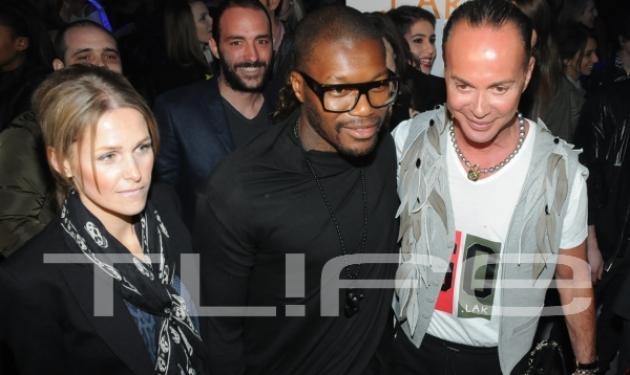 Οι celebrities πήγαν στο fashion show του Λάκη Γαβαλά! Δες φωτογραφίες στο TLIFE