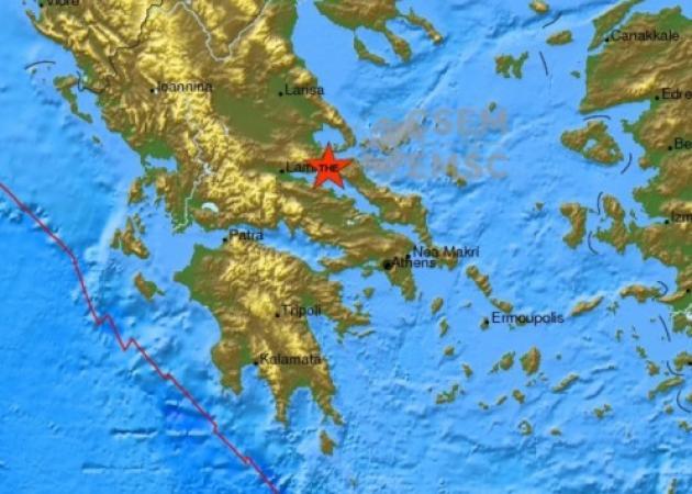 Σεισμός ταρακούνησε τη Στερεά Ελλάδα | tlife.gr
