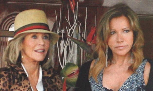 Cannes 2015: Η συνάντηση της Μαριάννας Λάτση με την Jane Fonda στο γιοτ!