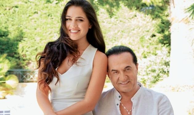 Ο Λευτέρης Πανταζής και η κόρη του στην Τατιάνα! Βίντεο