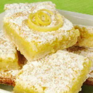 Lemon Pie με μόλις 100 θερμίδες
