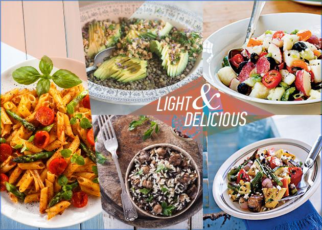 Νηστίσιμες συνταγές: 5 light πιάτα ιδανικά για τη δίαιτά σου