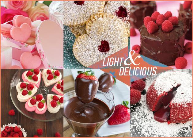 Συνταγές: 6 light ερωτικά γλυκά για τη γιορτή του Αγίου Βαλεντίνου! | tlife.gr