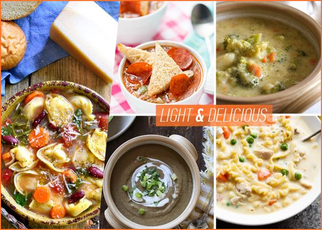Σούπες: Light συνταγές που βοηθούν στο αδυνάτισμα!   tlife.gr
