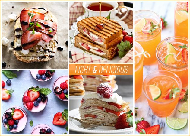Light συνταγές με φράουλες: Γλυκά και αλμυρά πιάτα που θα κάνουν πιο απολαυστική τη δίαιτά σου | tlife.gr
