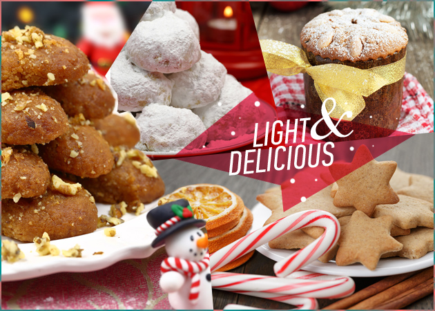 Χριστουγεννιάτικα γλυκά: Η light εκδοχή των γιορτινών πειρασμών! Πώς να μειώσεις τις θερμίδες