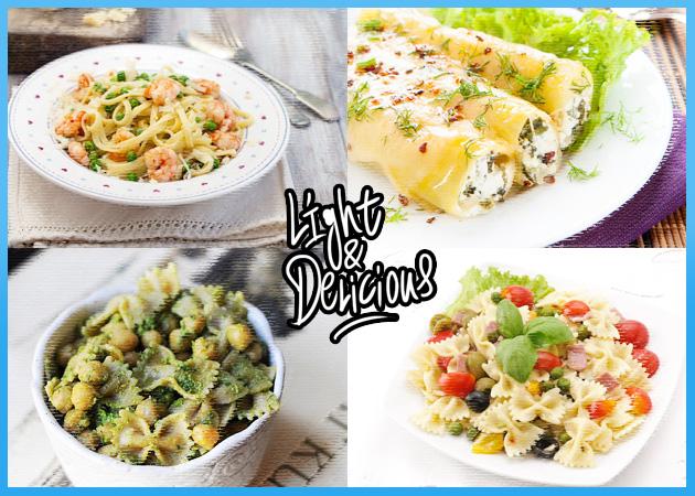 Everybody Loves Pasta! Light συνταγές για ζυμαρικά που δεν ξεπερνούν τις 300 θερμίδες