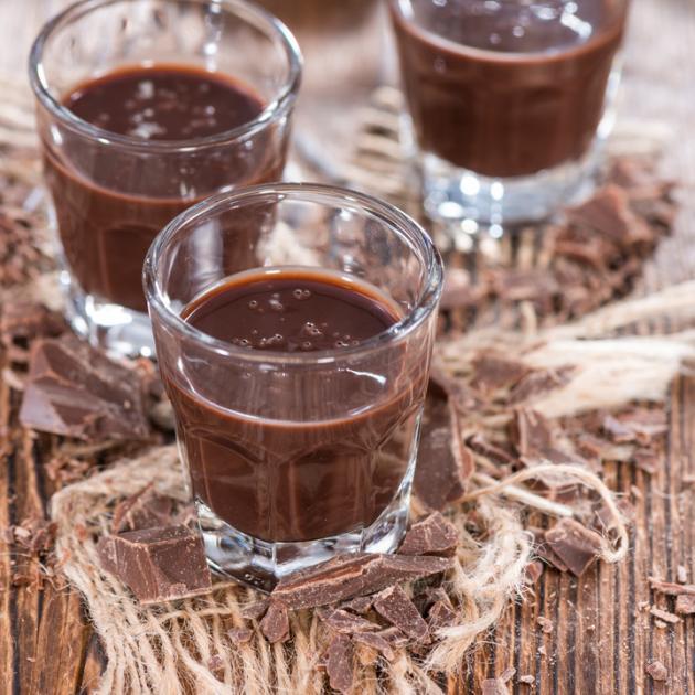 Λικέρ με ουίσκι και σοκολάτα