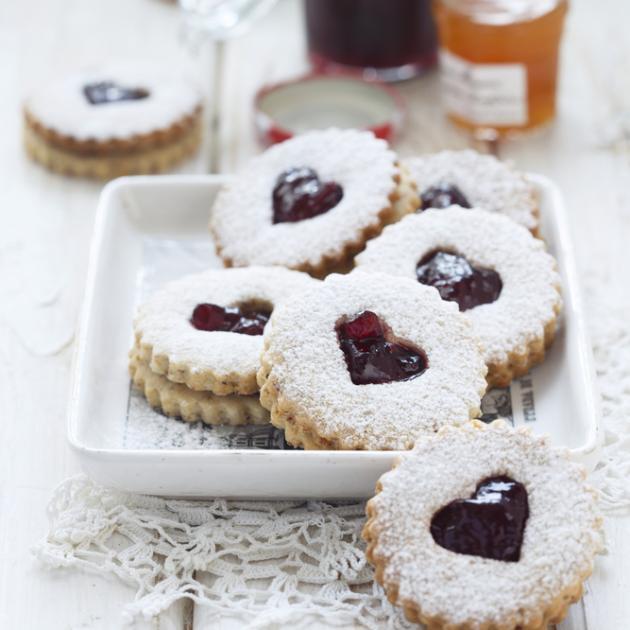 3 | Γεμιστά μπισκότα με μαρμελάδα
