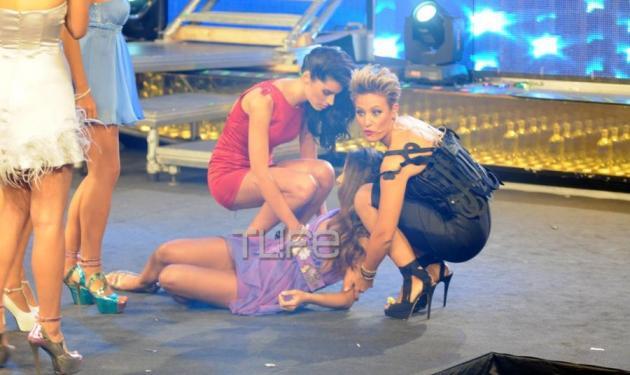 Λιποθύμησε υποψήφια των καλλιστείων επί σκηνής | tlife.gr