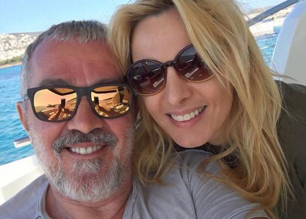Γιώργος Λύρας: Για μπάνιο με την κόρη του Ηλέκτρα, στο Κατραμονήσι!