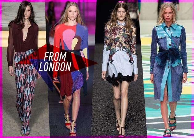 323559d48c98 London Fashion Week Spring-Summer  15  Tι έδειξαν οι οίκοι για το επόμενο  καλοκαίρι!