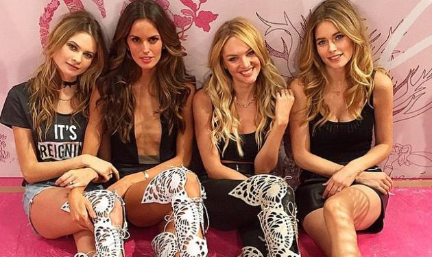 Tα Αγγελάκια της Victoria Secret τρελαίνουν το Λονδίνο! Φωτογραφίες | tlife.gr