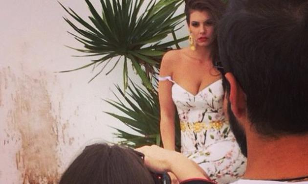 M. Κορινθίου: Για πού φωτογραφίζεται η ηθοποιός;