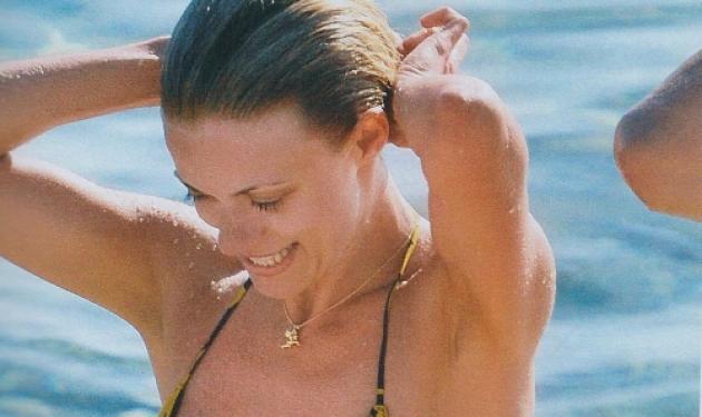 Η Μακρυπούλια κάνει μπάνιο στη Μύκονο! Δες φωτογραφίες. | tlife.gr