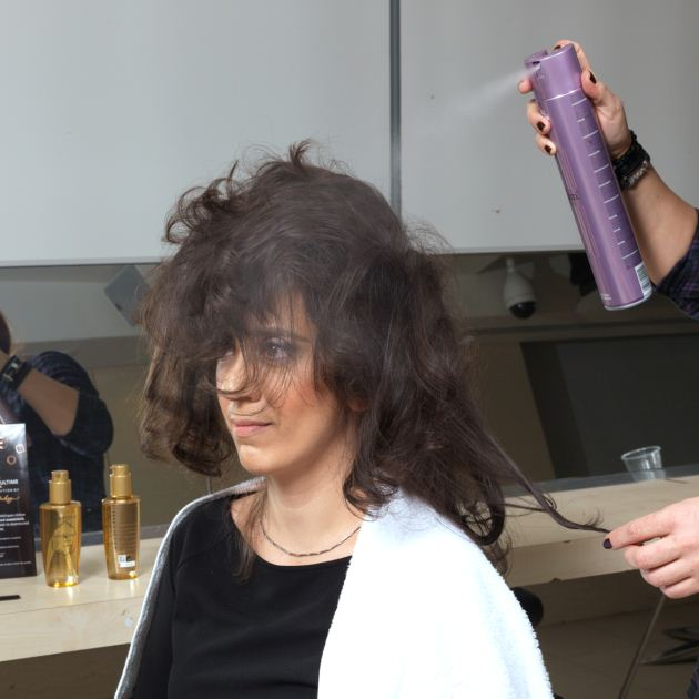 18 | Μαλλιά: βήμα 8