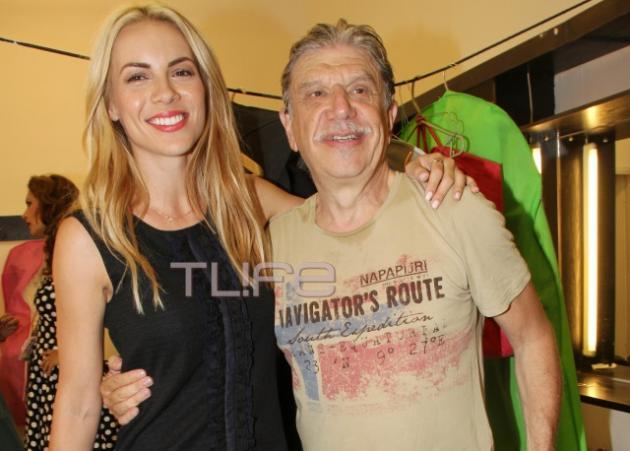 Mαρία Λουίζα Βούρου: Στο θέατρο με νέο συνοδό για ν' απολαύσει τον Γιάννη Βούρο! | tlife.gr