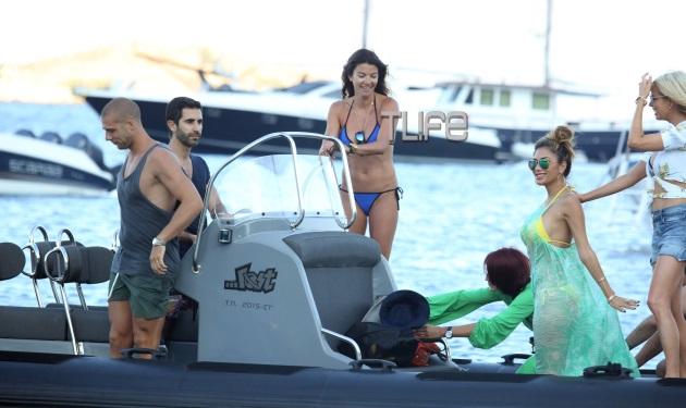 Μαρίνα Βερνίκου: Φιλοξένησε στο σκάφος της την Nicole Scherzinger!