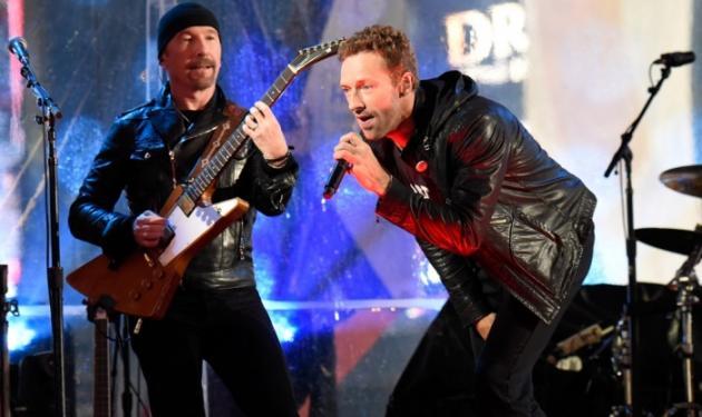 O Bruce Springsteen και o Chris Martin αντικατέστησαν τον Bono στους U2