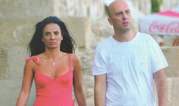 Δ. Ματσούκα- Γ. Φιξ: Ρομαντική απόδραση στη Ρόδο. Φωτογραφίες | tlife.gr