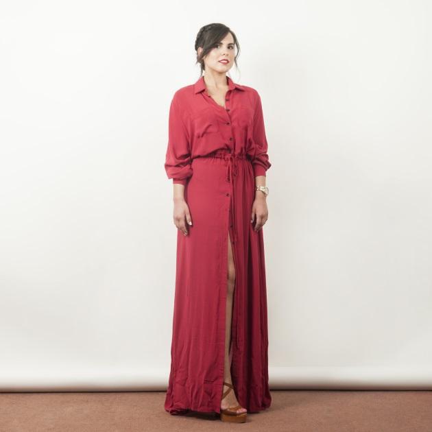 2 | To maxi shirt dress
