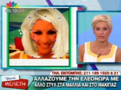 Η Ελεονώρα Μελέτη παίζει με το makeover του TL!fe!