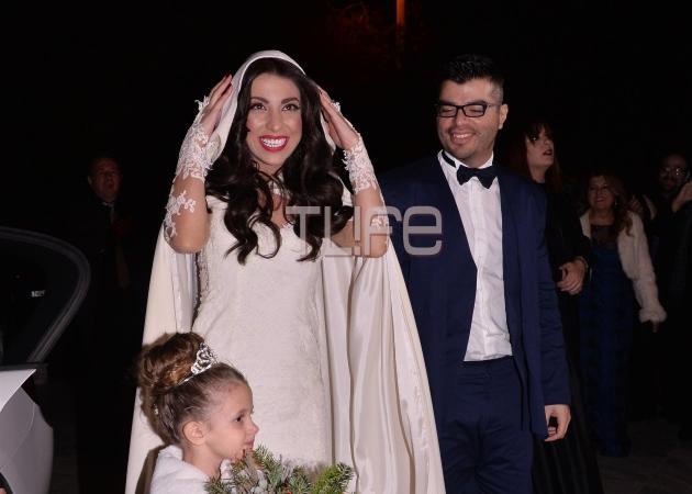 Η Μελίνα Μακρή παντρεύτηκε τον αγαπημένο της! Φωτογραφίες