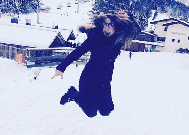 Μελίνα Ασλανίδου: Απόδραση στα χιόνια με την οικογένειά της! Φωτογραφίες