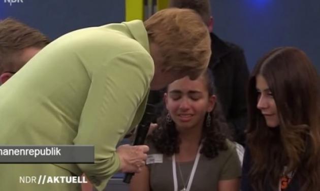 Γιατί έκανε η Μέρκελ ένα κοριτσάκι να κλάψει;