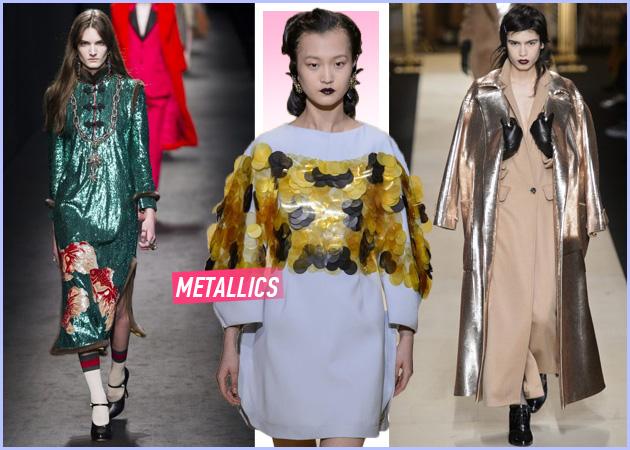 Metallics: Πως να τα φορέσεις φέτος!