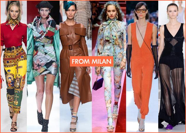 Fashion Week: Μια βόλτα στις πασαρέλες του Μιλάνου και στις κολεξιόν της επόμενης άνοιξης!