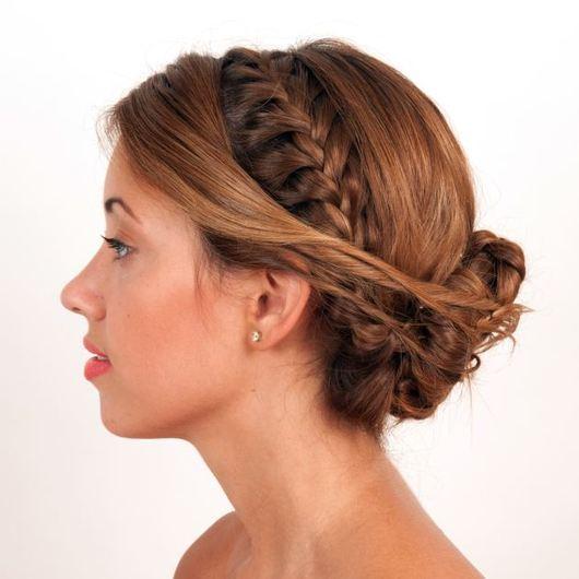 1 | Milkmaid braid!