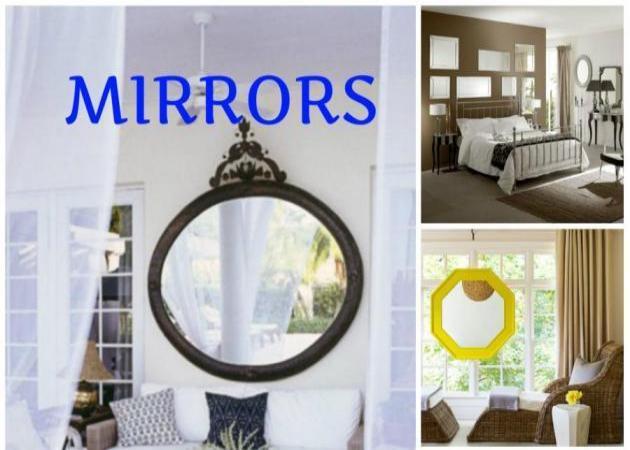 Καθρέφτες: πώς να τους χρησιμοποιήσεις στη διακόσμησή σου! | tlife.gr