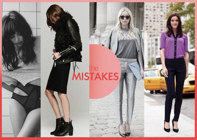 FASHION FAUX PAS: ΤΑ 10 πιο συνηθισμένα λάθη στη μόδα και πως να τα αποφύγεις!   tlife.gr