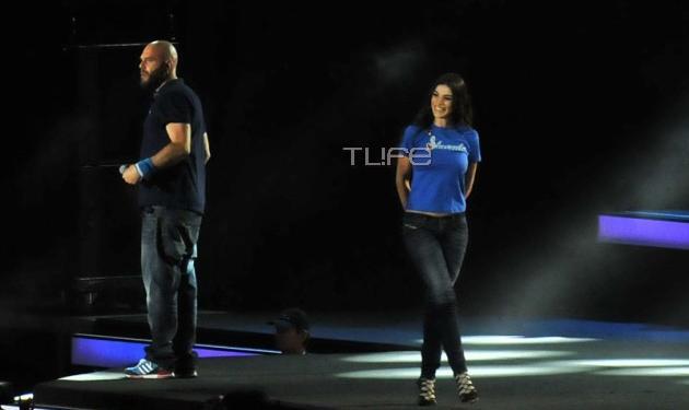 Ήβη Αδάμου – Μιχάλης Κουινέλης: Το ντουέτο στη σκηνή και η αμήχανη στιγμή! Video   tlife.gr