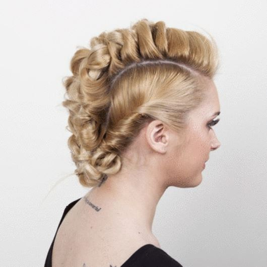 5 | Mohawk braid