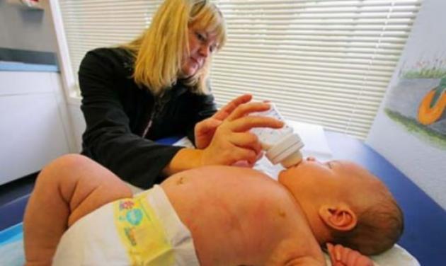 Μωρό γίγας γεννήθηκε στη Βουλγαρία – Ζυγίζει 6,5 κιλά! | tlife.gr