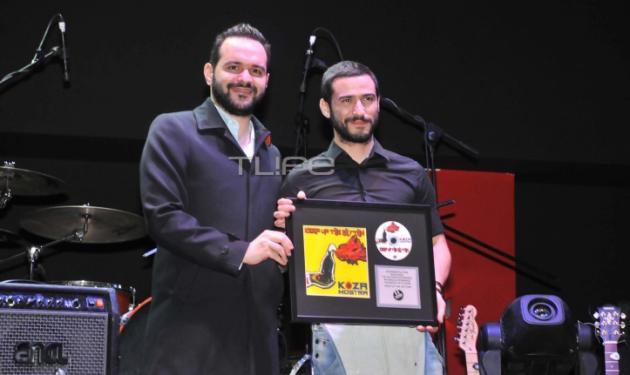 Η. Κόζας: Απονομή πλατινένιου, λίγο πριν τον ελληνικό τελικό της Eurovision!