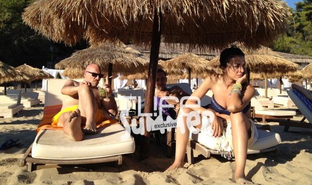 Σολωμού – Μουτσινάς – Αλευράς: Στιγμές χαλάρωσης κατά την διάρκεια της περιοδείας! | tlife.gr