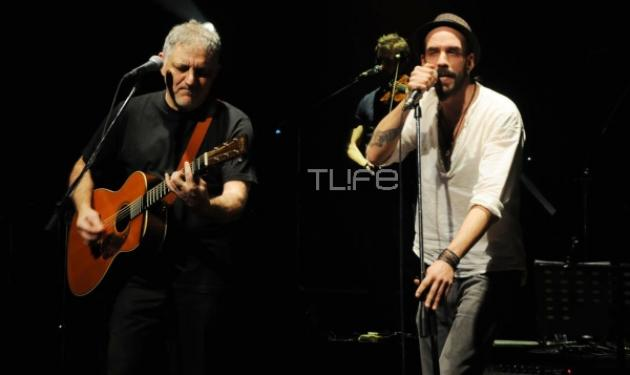 Πορτοκάλογλου – Μουζουράκης: Μαζί στη σκηνή! Δες φωτογραφίες | tlife.gr